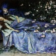 I've since read an early version of the Sleeping Beauty story from the actual fourteenth century, and it's much darker than the modern version, although it does hold an interesting secret for those who love the stories of the Round Table.