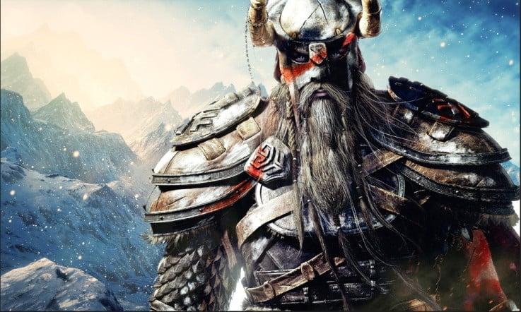 Skyrim Nord Warrior. (www.comicvine.com)