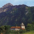 This medieval castle, which dates back to the 11th century, is located on the French-Swiss border.
