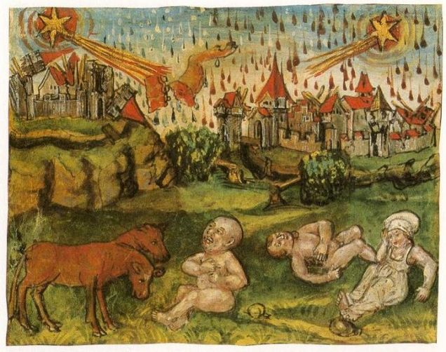 Explaining Extreme Weather in the Middle Ages