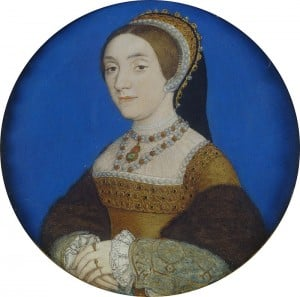 Hans Holbein the Younger - Portrait of Catherine Howard (Windsor version)