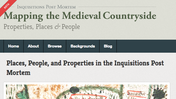 New online database allows users to explore the families of Medieval England