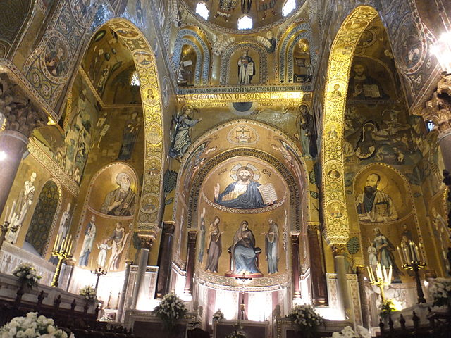 Palatine Chapel Palermo - photo by Fintan Corrigan of http://friendly-hotels.com