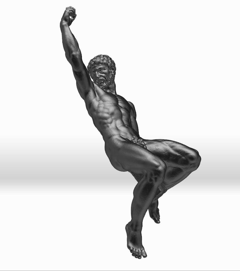 Statue scan by WMG/University of Warwick