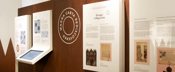 Earlier this year a copy of Magna Carta dated to the year 1300 was discovered in Kent. This rare copy now goes on public display as part of an exhibition starting today at the Kent History and Library Centre in Maidstone.