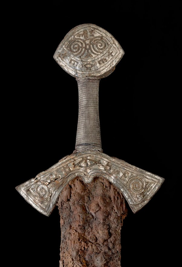 viking magic sword hilt Photo: Ellen C. Holthe, Museum of Cultural History, University of Oslo