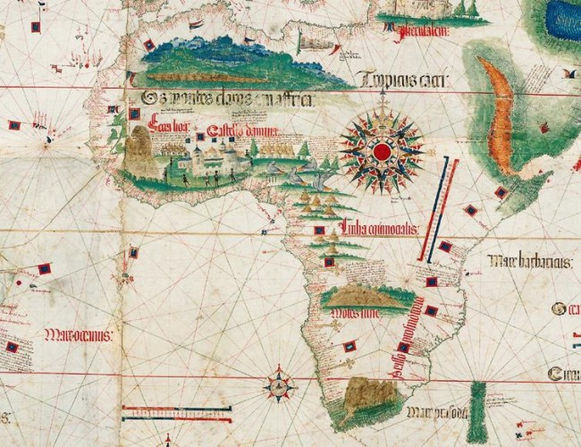 Africa Map from 1502