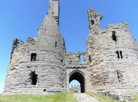 Dunstanburgh Castle - Photo by James Turner