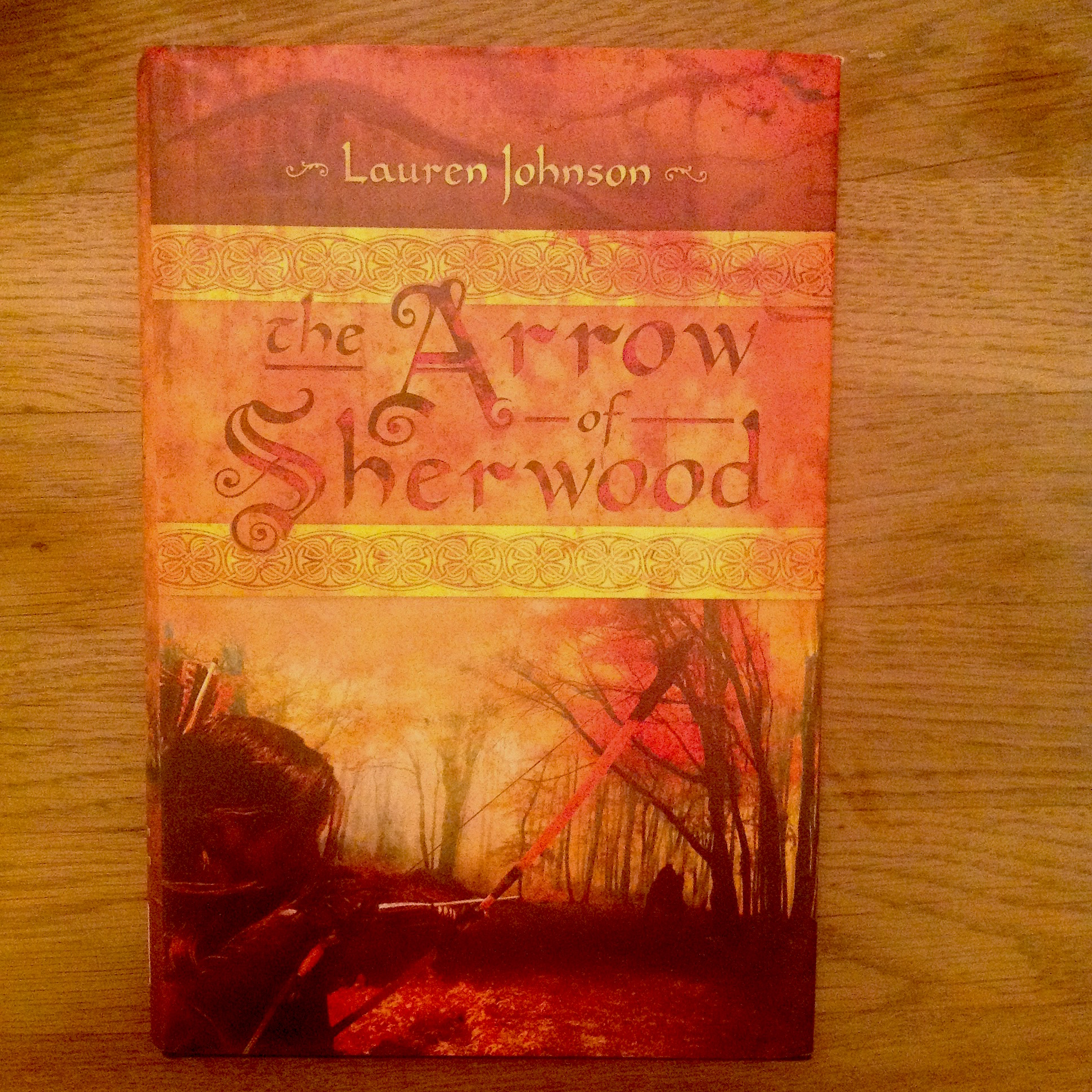 Arrow of Sherwood by Lauren Johnson