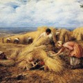 John Linnell - The Harvest Cradle 1859