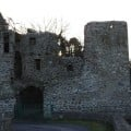 Why did they stop building tower house castles in Ireland?
