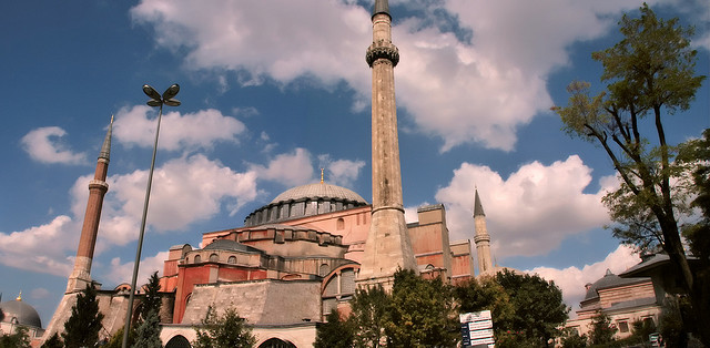 hagia sophia - Photo by Scott MacLeod Liddle / Flickr