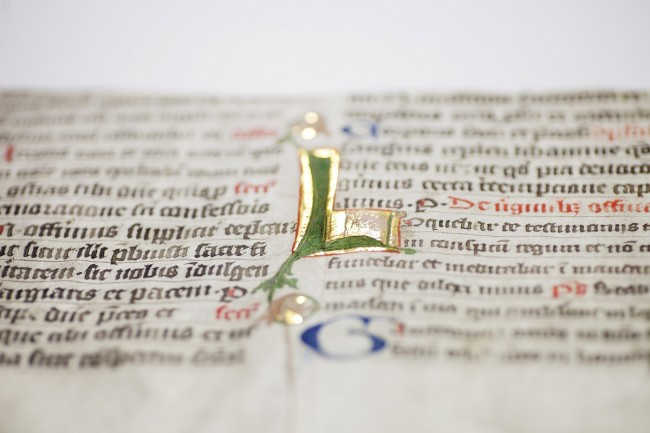 Many documents are very delicate and sensitive, and ideally should not be touched or exposed to direct light. Photo by Nils Kristian Eikeland/NTNU Universitetsbiblioteket