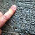 13th century insult discovered etched into the walls of Nidaros Cathedral