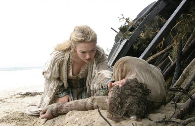 Sophia Myles as Isolde. Isolde finds Tristan washed up on the Irish shore.