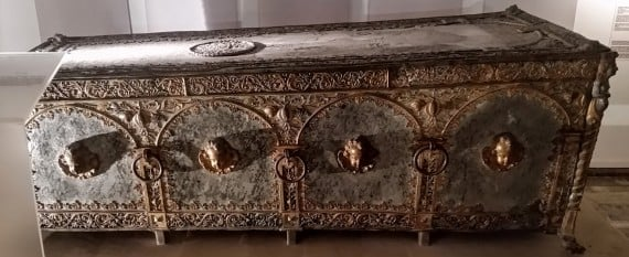 Sarcophagus of Duke Bogisław XIV (1580-1637), last of the House of Griffin. (photo by Medievalists.net)