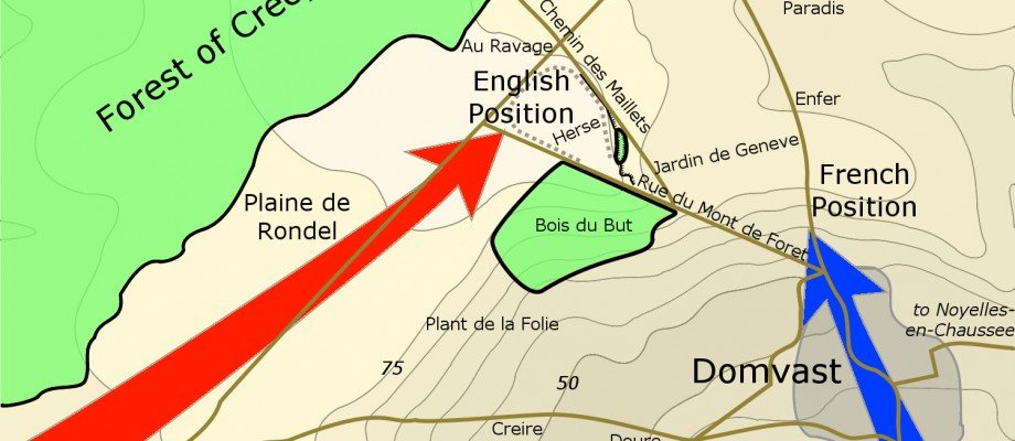 New Location for the Battle of Crécy discovered