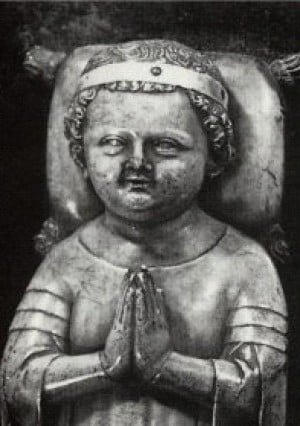 Effigy of John I of France