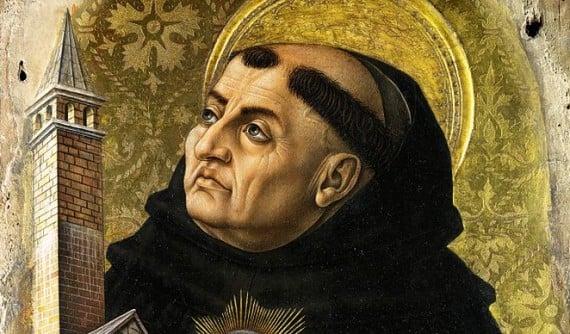 15th century image of Saint Thomas Aquinas
