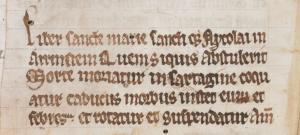 British Library Harley MS 2798, fol. 235v.