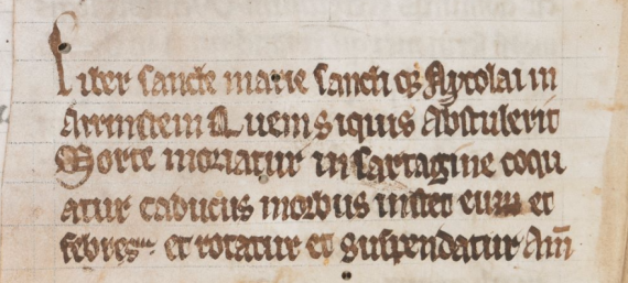 British Library Harley MS 2798, fol. 235v.