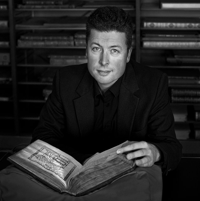 Erik Kwakkel - Photo by Willem-Jan Schipper