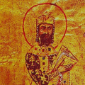 Miniature of the Byzantine Emperor Alexios I Komnenos (r. 1081-1118)