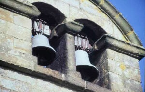 The bells of St. Chad's Church, Claughton