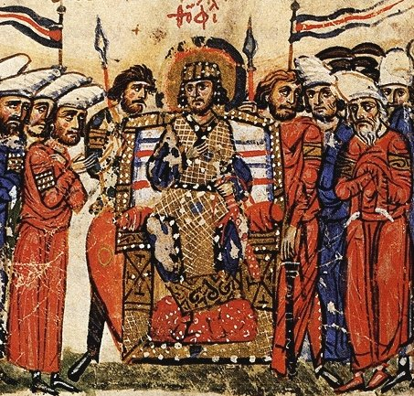 Emperor Theophilus, in the Chronicle of John Skylitzes
