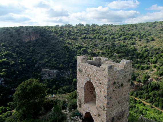 Ruins of Montfort Castle - Photo by Ariel Gera / Wikimedia Commons