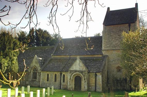 St. Lawrence parish church in Caversfield