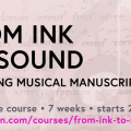 from ink to sound