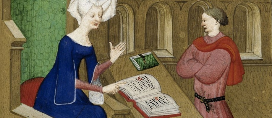 Last Words from a Medieval Mother to her Son