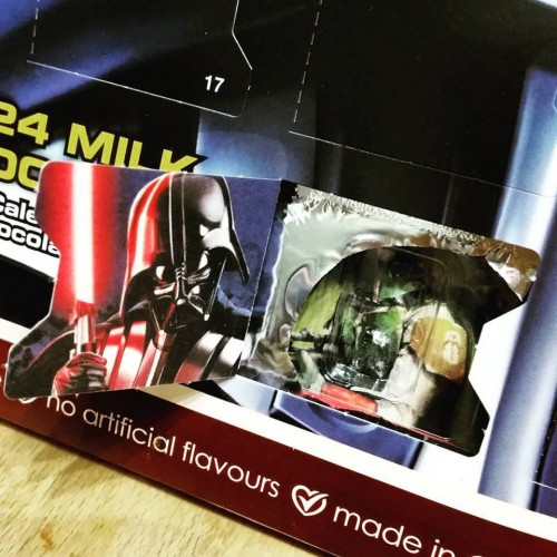 My Star Wars Advent Calendar - Sadly, this delicious tradition isn't medieval.