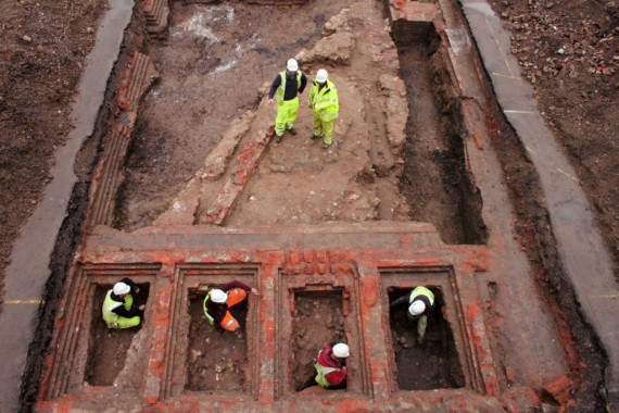 Photo by Mark Price / Cotswold Archaeology / Twitter