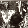 Sir Gawain, by Howard Pyle from The Story of King Arthur and His Knights (1903)