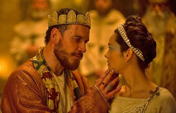 Macbeth at his banquet.