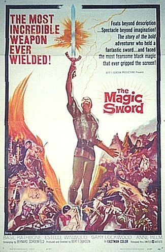 The Magic Sword (1962) movie poster
