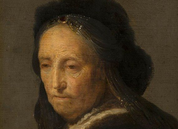 Study of an Old Woman - 17th century
