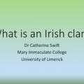What is an Irish clan?