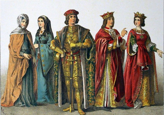 Fashion in the Middle Ages Middle Ages