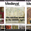 subscribe to the medieval magazine