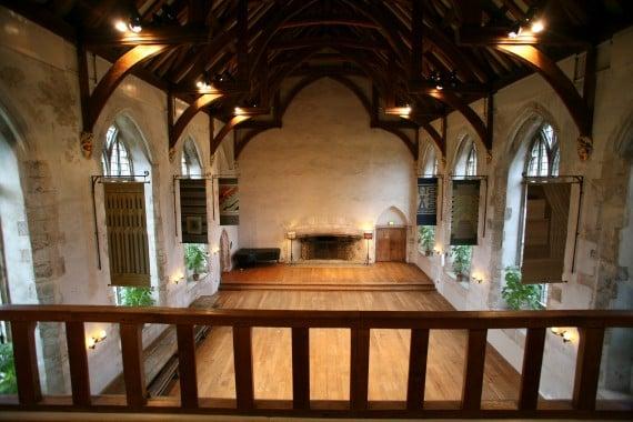 Darlington Hall interior (Photo courtesy of Dartington Hall Trust)
