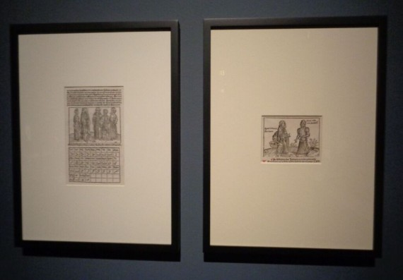 Getty Museum, Los Angeles, CA. 'Traversing the Globe Through Illuminated Manuscript'  (Photo courtesy of Dani Trynoski)