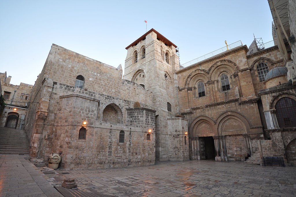 Church of the Holy Sepulchre, Jerusalem. (Wikipedia)
