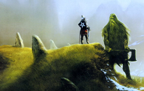 Gawain and the Green Knight by John Howe.