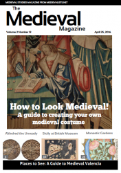 Our Medieval Magazine  is on sale for $3.99