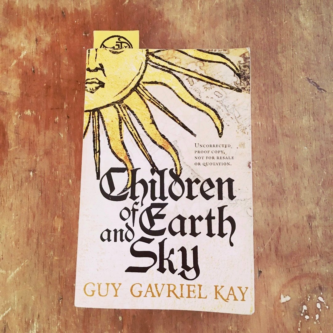 Book: Children of Earth and Sky by Guy Gavriel Kay