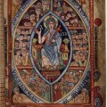 The Athelstan Psalter (London, British Library, MS Cotton Galba A XVIII, f. 21r)