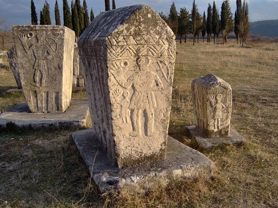 Radimlja, one of the most valuable and most important necropolis of stećci in Bosnia and Herzegovina - Photo by Litany / Wikimedia Commons
